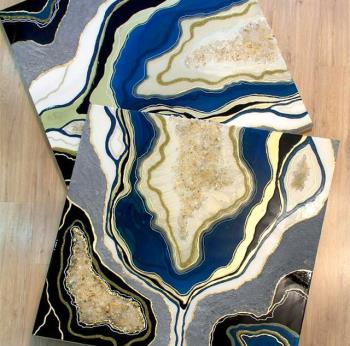 Geode Wall Art