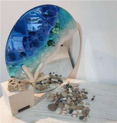 آینه موج دریا